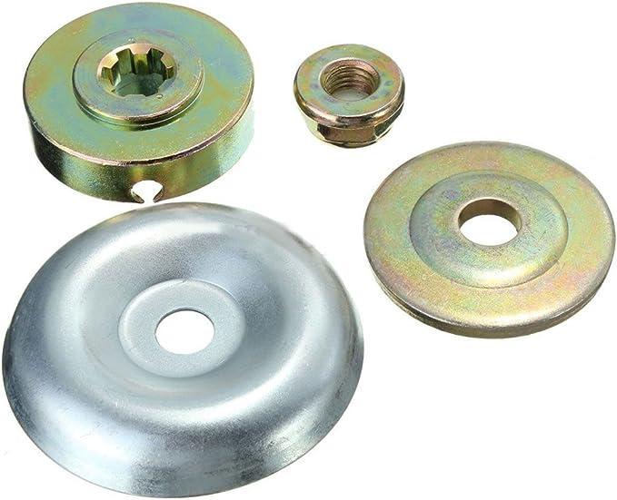 4 Packung Metall Getriebebox Klinge M10 Mutter Befestigung Kit für Rasentrimmer