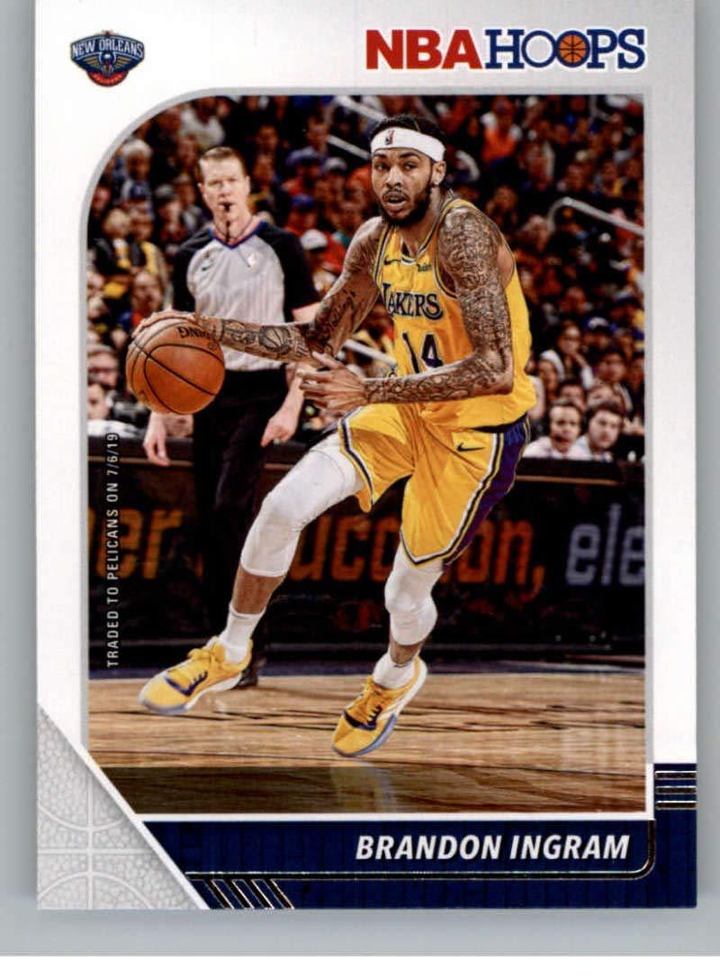 Amazon Com 2019 20 Panini Hoops 119 Brandon Ingram New