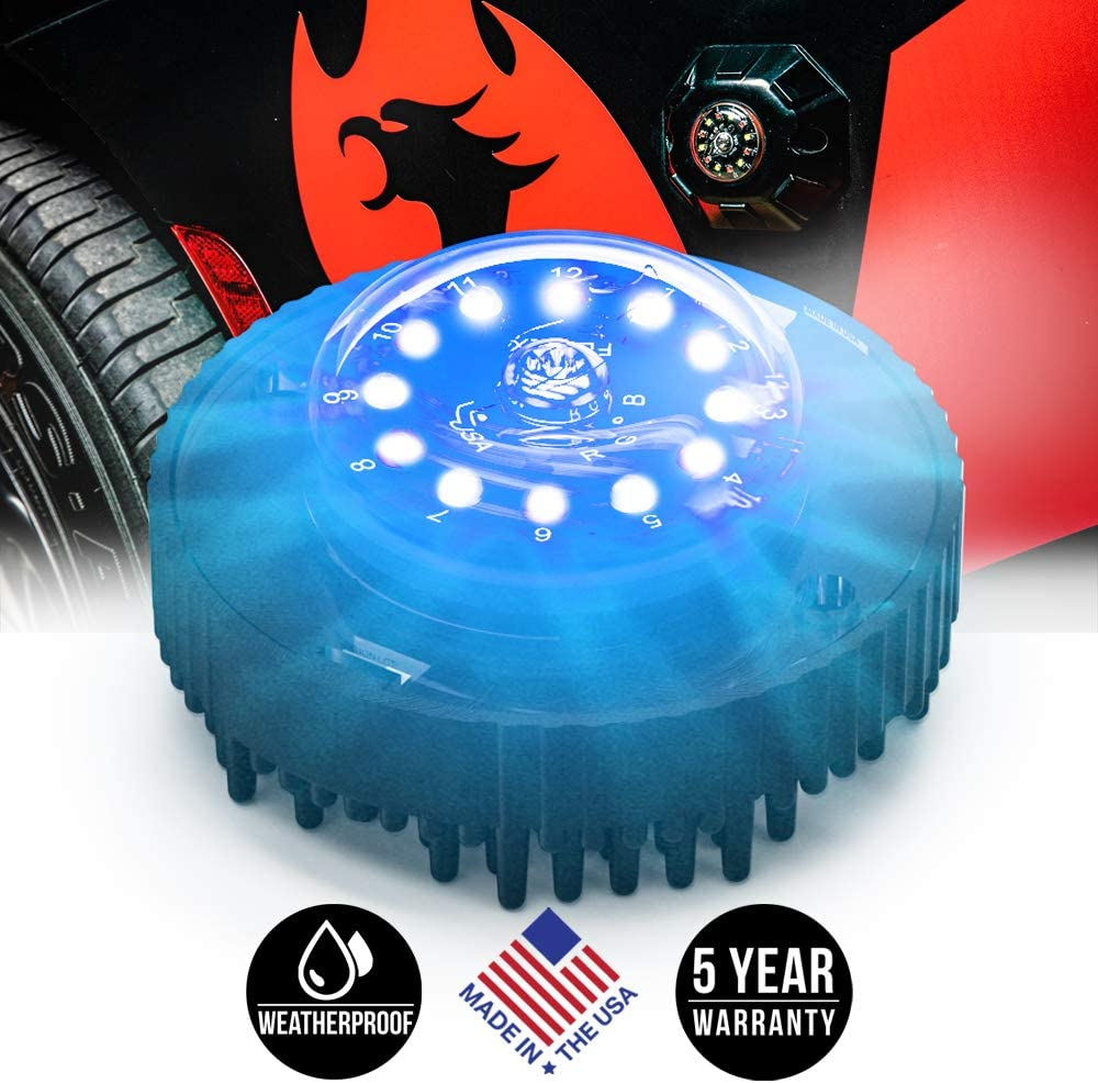 V3 All-In-One Driver, Red Feniex H-2219 Cannon 120/° LED Hide-A-Way