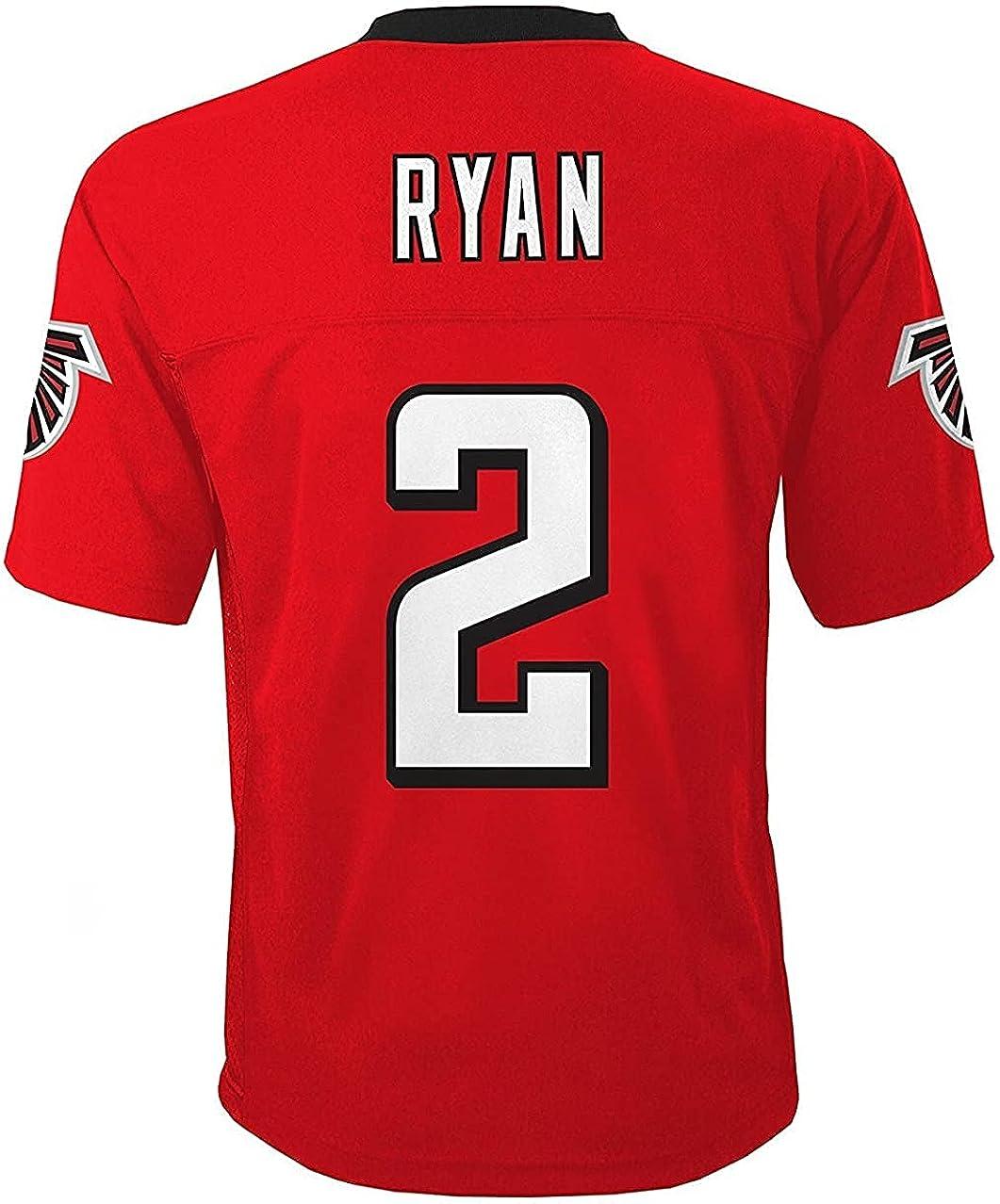 Matt Ryan Atlanta Falcons NFL Kids Red Home Mid-Tier Jersey