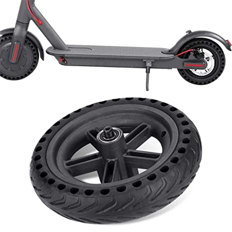 Amazon.com : GJK-SION Wheel Hub and Explosion-Proof Tire Set ...