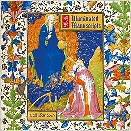 British Library Illuminated Manuscripts 2019 Calendar