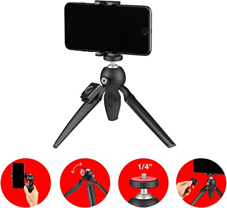 JOBY HandyPod Mobile (Plus) Mini trípode y Palo Selfie con Soporte ...