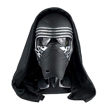 yacn Kylo REN máscara Star Wars Jedi Deluxe Cosplay con Capucha ...