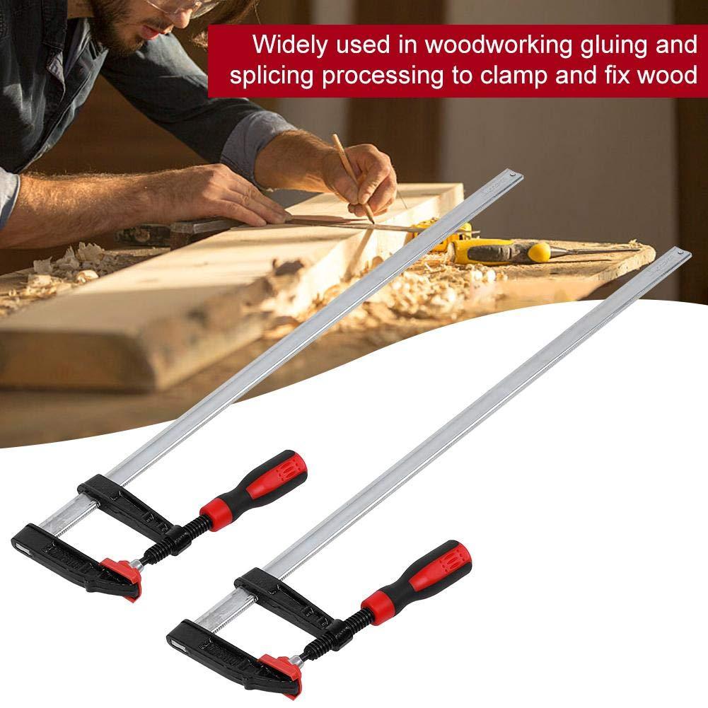 bornes pour utilisations p/énibles F Clip Bar Clamp bois Kit doutils manuels Quick Slide 80/* 600/mm 2pezzi F Borne transformation bois