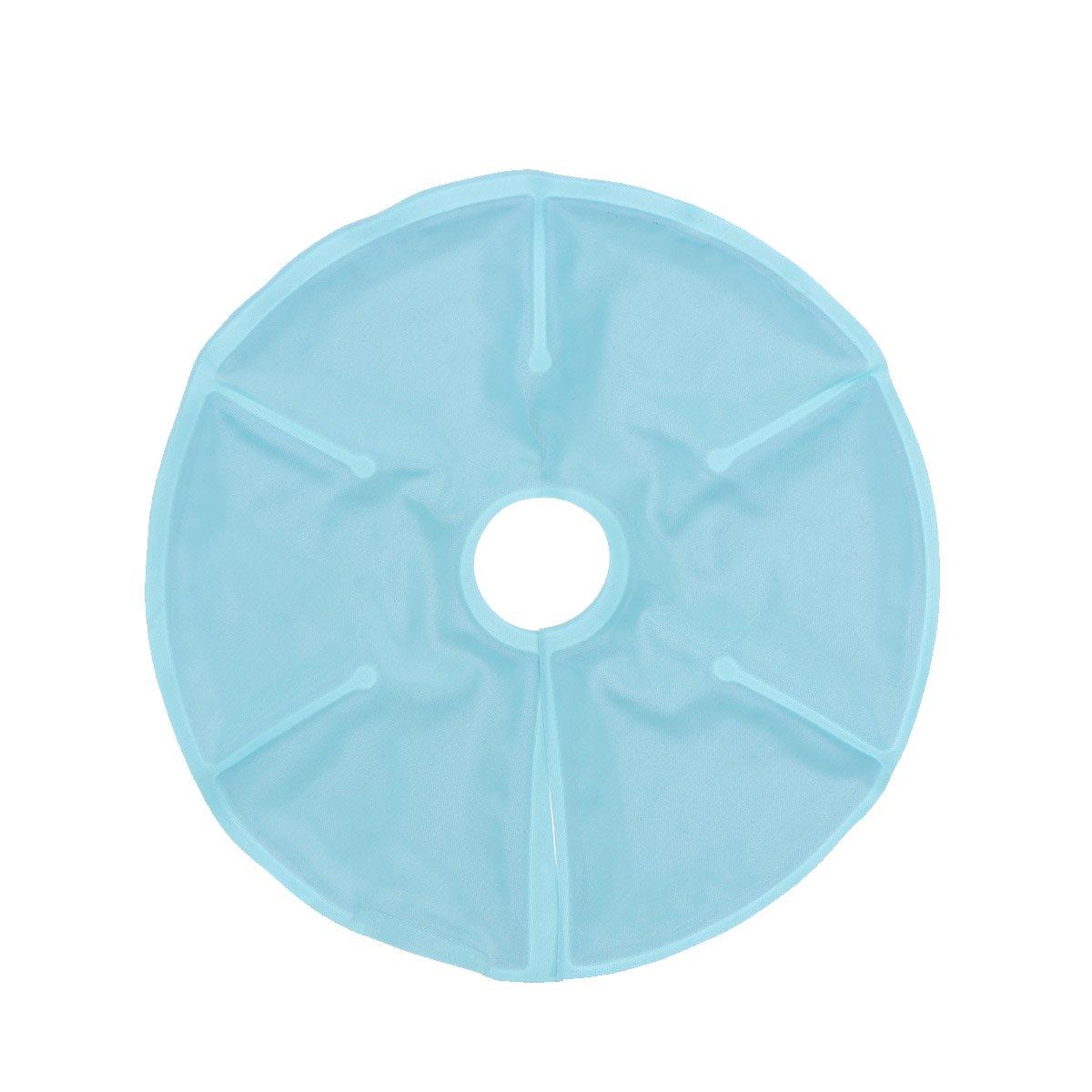 healifty Brust Therapie Pack Brust Gel Pads Ice Pack wiederverwendbar heiße und kalte Therapie Stillen Gel-Pads für engorgement verbessern Milch Produktion 18x 18cm (Sky Blau)