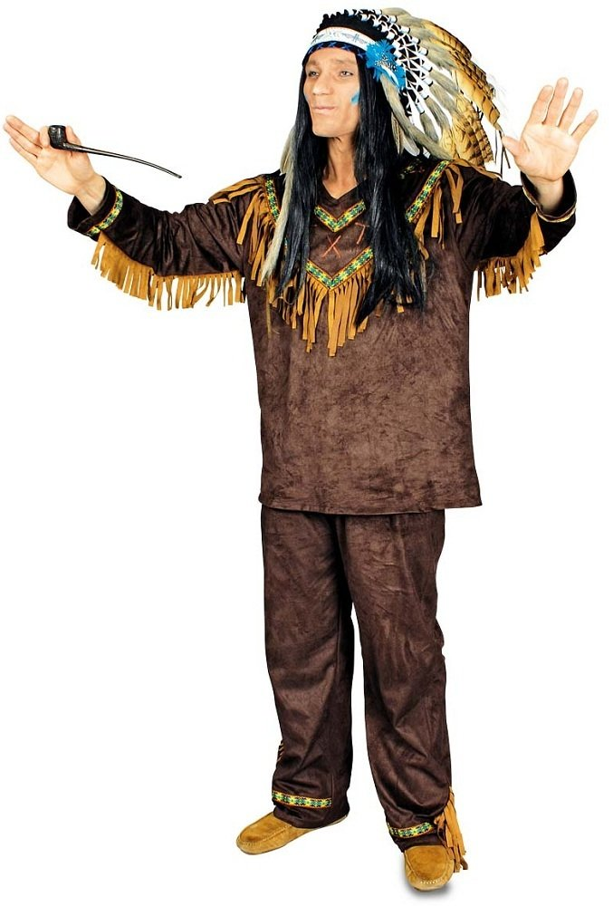Indianer Schneller Pfeil Kostüm für Herren Gr. 46 48 B01N95QWYG Kostüme für Erwachsene Neueste Technologie | Elegant