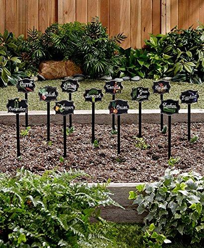 Set of 12 Vegetable Markers - Plant Garden Labels