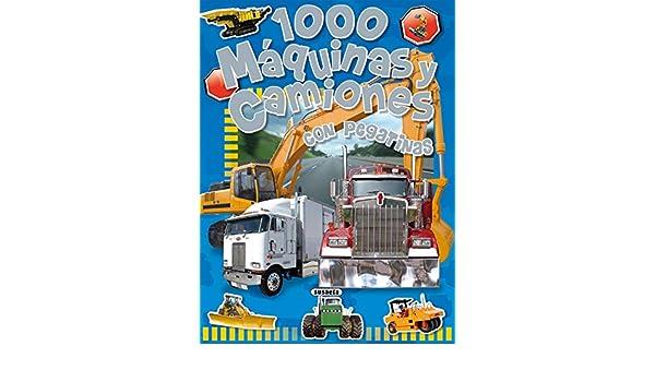 1000 máquinas y camiones: Con pegatinas (Spanish Edition): Inc. Susaeta Publishing: 9788430525232: Amazon.com: Books