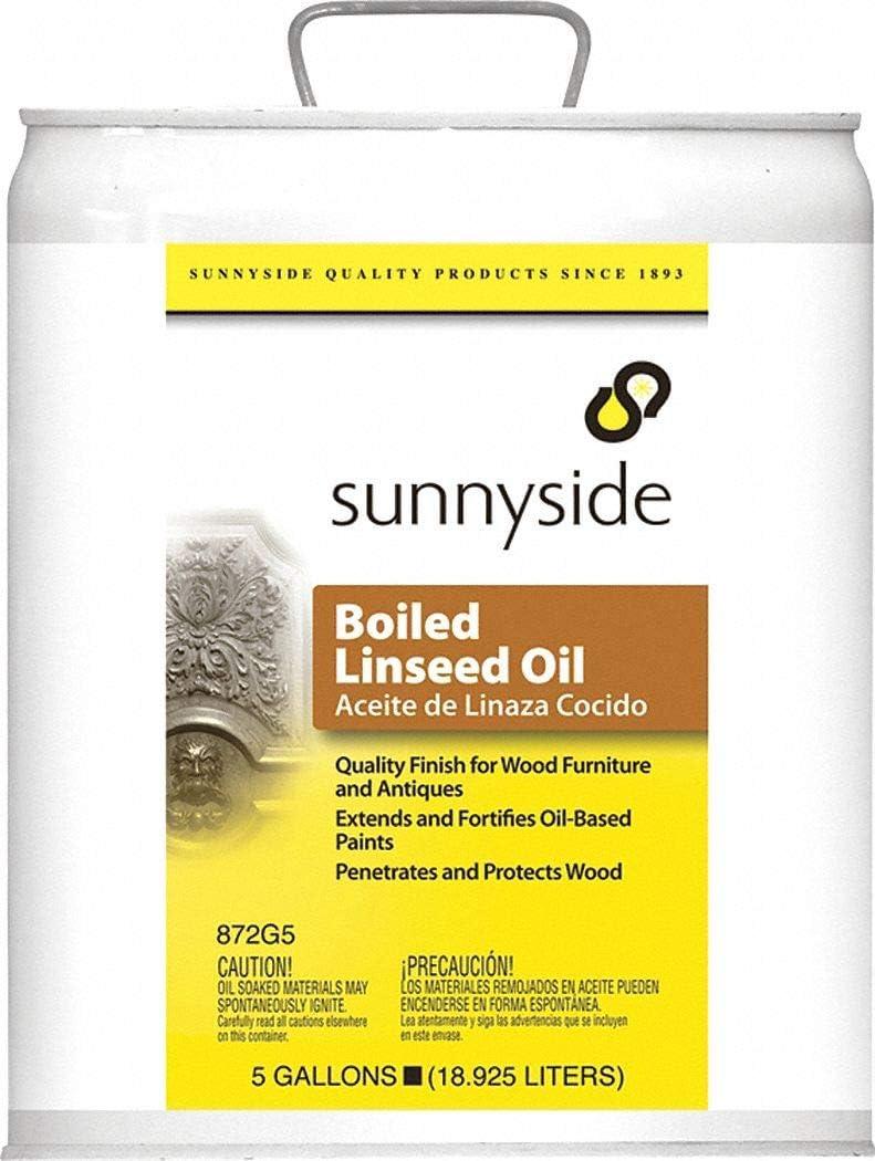 Sunnyside 872G5 5 Gallon Boiled Linseed Oil