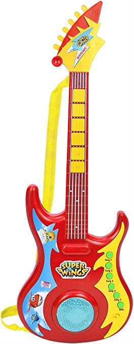 Bontempi – Guitarra Rock Electrónica 246969 – Super Wings: Amazon ...