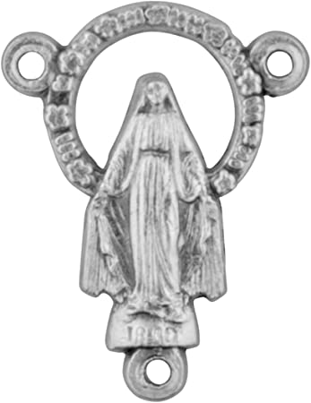 13 Rosary connector centerpieces