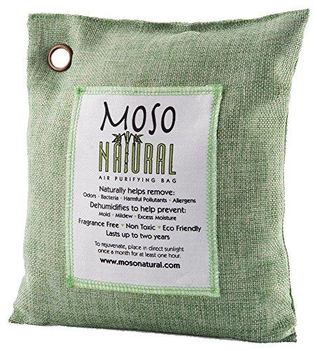 MosoNatural Bag モソバック 200g モソナチュラル 全米NO.1空気清浄バッグ(Green)