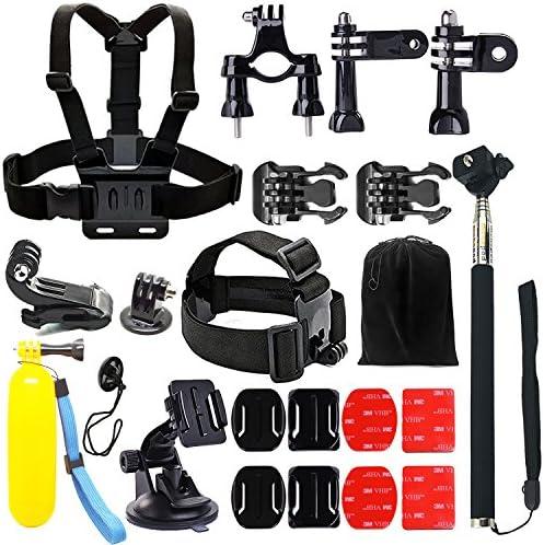 Iextreme 22 in 1 Wesentlich Kamera Zubehör Kit für GoPro Hero 5 4 3 + 3 2 1, Zubehör Set für SJ4000/5000/6000/7000