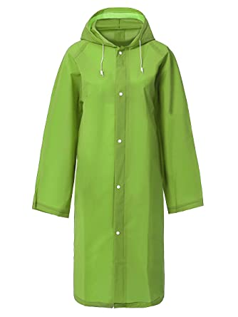 cd4bcd2a0f8f Amazon.com  Water-Resistant Disposable Rain Poncho Coat  Clothing