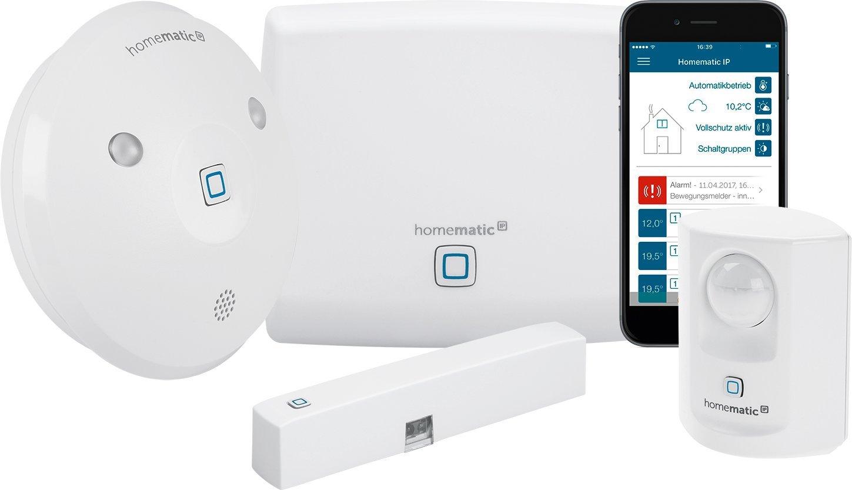 Homematic IP - Sicherheit und Beleuchtungssteuerung