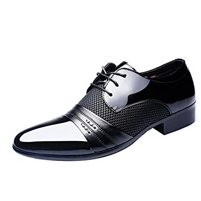 Summer Mesh Spring Leather Dress Shoes Breathable Men Formal Business Oxfords Plus Size 38-48 For Sale Men Dress Shoes Men's Shoes Formal Shoes