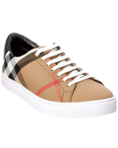 scarpe di separazione e943b 6795a Burberry Sneakers Scarpe Uomo in Tessuto e Pelle Modello ...