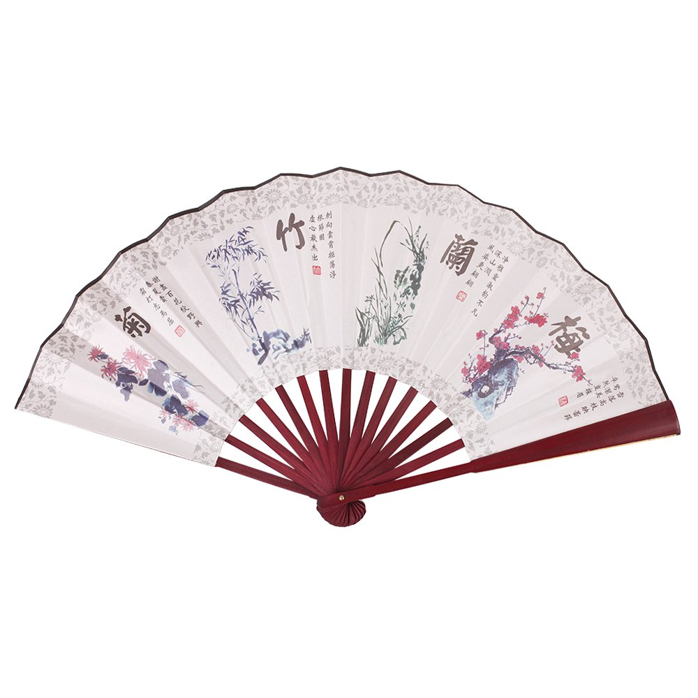 Amazon.com: Juno Town Chinese Fan: China Fan, Hand Fans with ...
