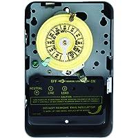 Enchufe del Interruptor del Temporizador de Pantalla Digital Circular programable de 7 d/ías 1m ~ 99h99m Enchufe de la UE Eastbuy Enchufe del Temporizador Digital