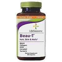 LifeSeasons - Beau-T - Hair, Nail, and Skin Supplement - Maintain Healthy Hair and...