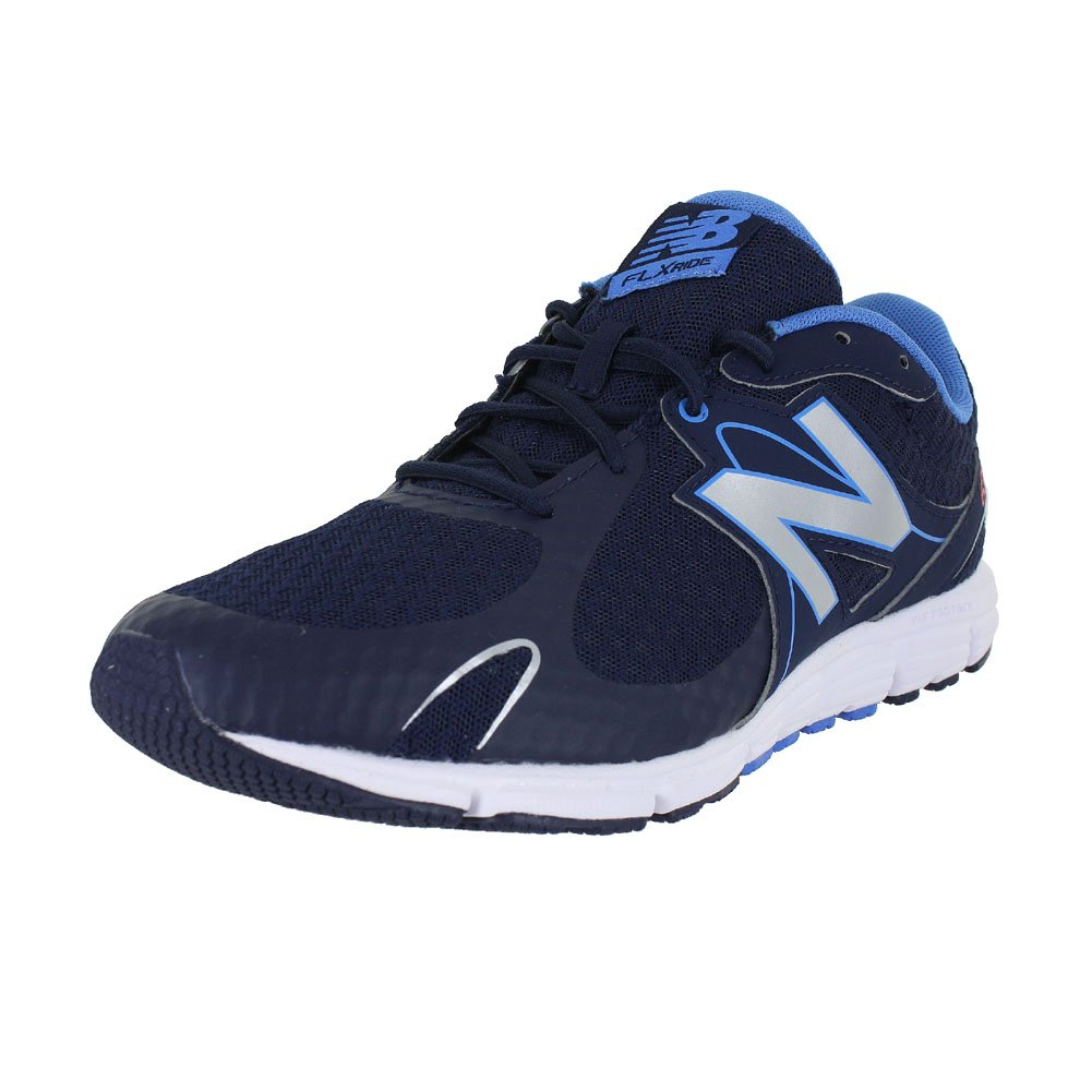 New Balance Women's 630v5 Flex Ride Running Shoe B0195IMWLM 9.5 D US|Navy/Silver