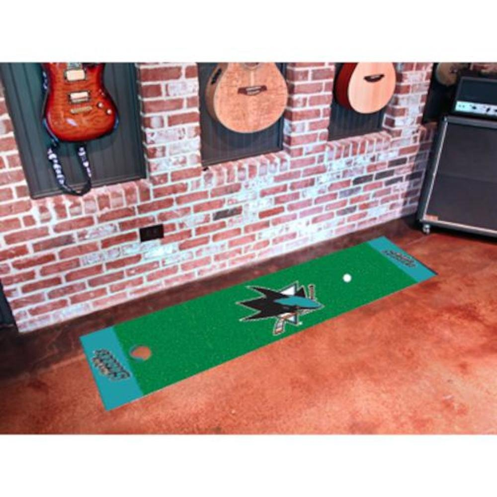 Fanmats San Jose Sharks Golf Putting Practiceグリーン   B002OW5O3K