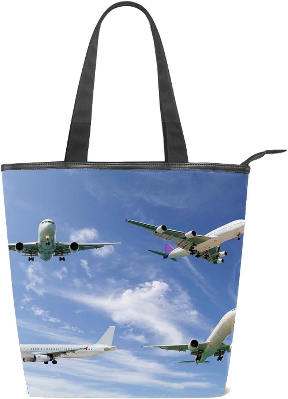 Cat With A Hat Tote Handbag Mini Single Crossbody Messenger Bag Long Strap Shopping Bag Pouch Women Canvas Shoulder Bag