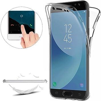 Funda para Samsung Galaxy J7 2017 (J730) Carcasas [Cover 360 ...