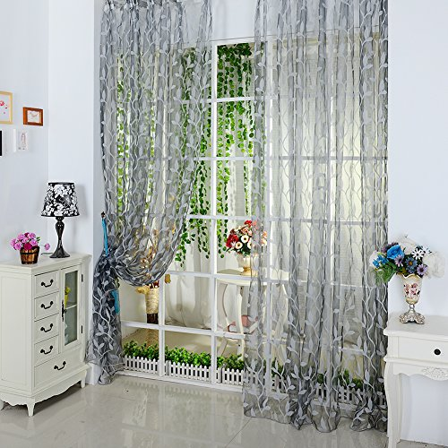 Fedi Apparel Newest Tulle Voile Window Curtain Divider