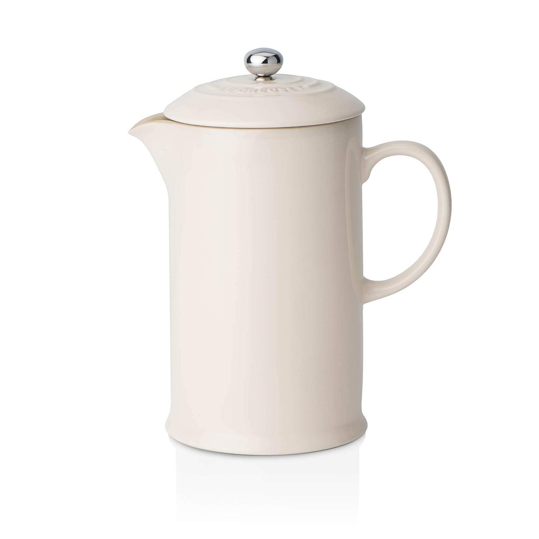 Almond Le Creuset Stoneware Cafetiere