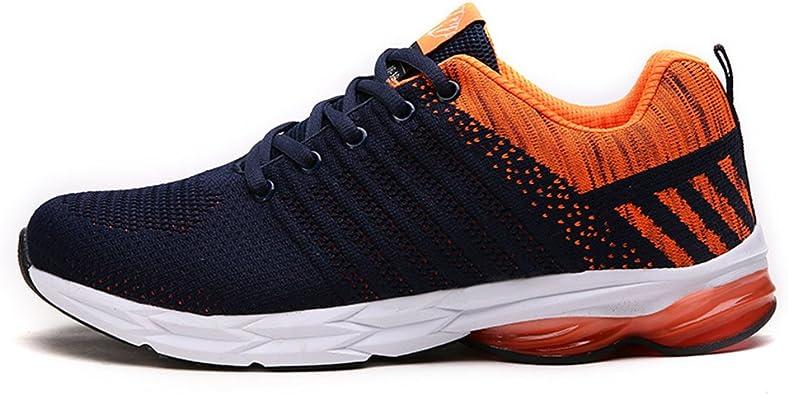 Fexkean Zapatillas de Deporte Zapatos Deportivos para Hombre Aire Libre Antideslizante Running Shoes 38-45(OR45): Amazon.es: Zapatos y complementos