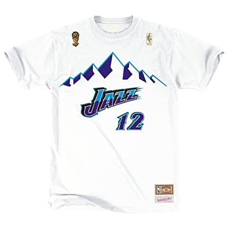 cheaper 8c338 2e59c Amazon.com : Mitchell & Ness Utah Jazz John Stockton HWC ...