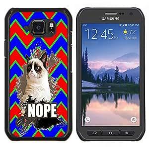 Dragon Case - FOR Samsung Galaxy S6 active/G870A/G890A (Not Fit S6) - Don??let me off - Caja protectora de pl??stico duro de la cubierta Dise?¡Ào Slim Fit