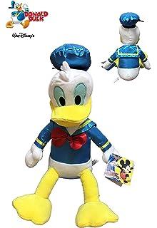 Famosa Peluche Donald Disney Satin 30cm sentado 40cm de pie