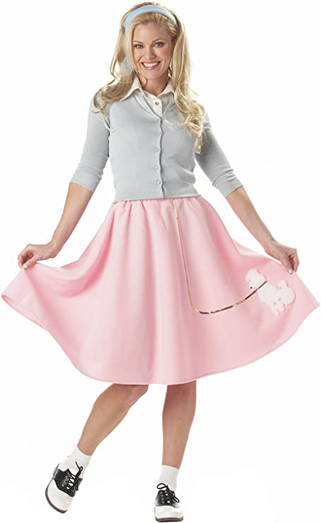 Kids 1950s Clothing & Costumes: Girls, Boys, Toddlers California Costumes Womens Poodle Skirt Costume $24.99 AT vintagedancer.com