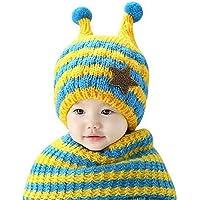 Sumolux Gorras Sombrero con Bufanda Set Con Orejas