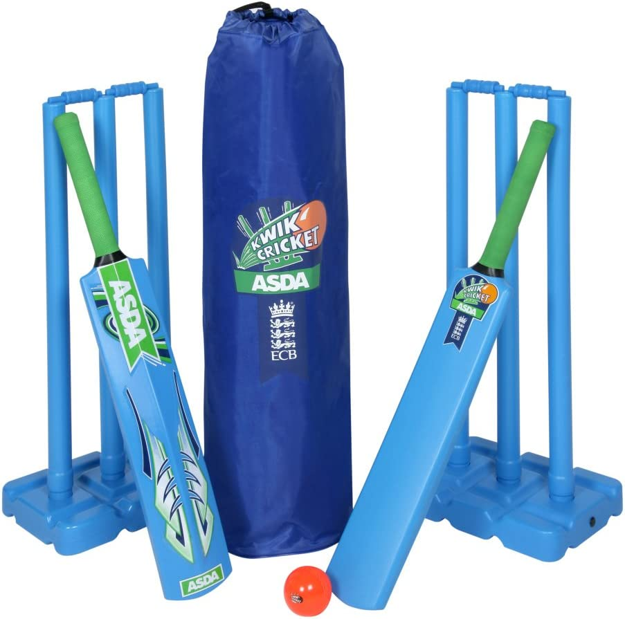 Age 3-5 Size 1 New Multi-coloured Nd Cricket Kids Opener Cricket Set
