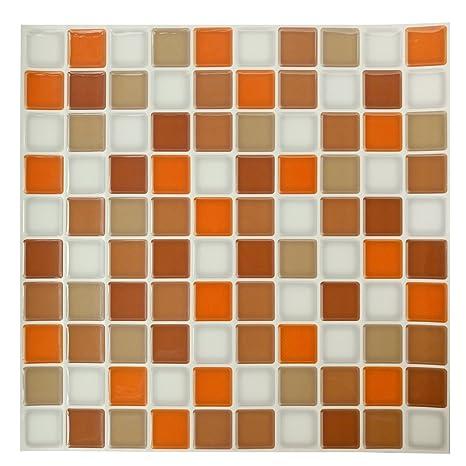 Ecoart Wall Tile Adesivi Per Piastrelle Da Parete Attacca E Stacca