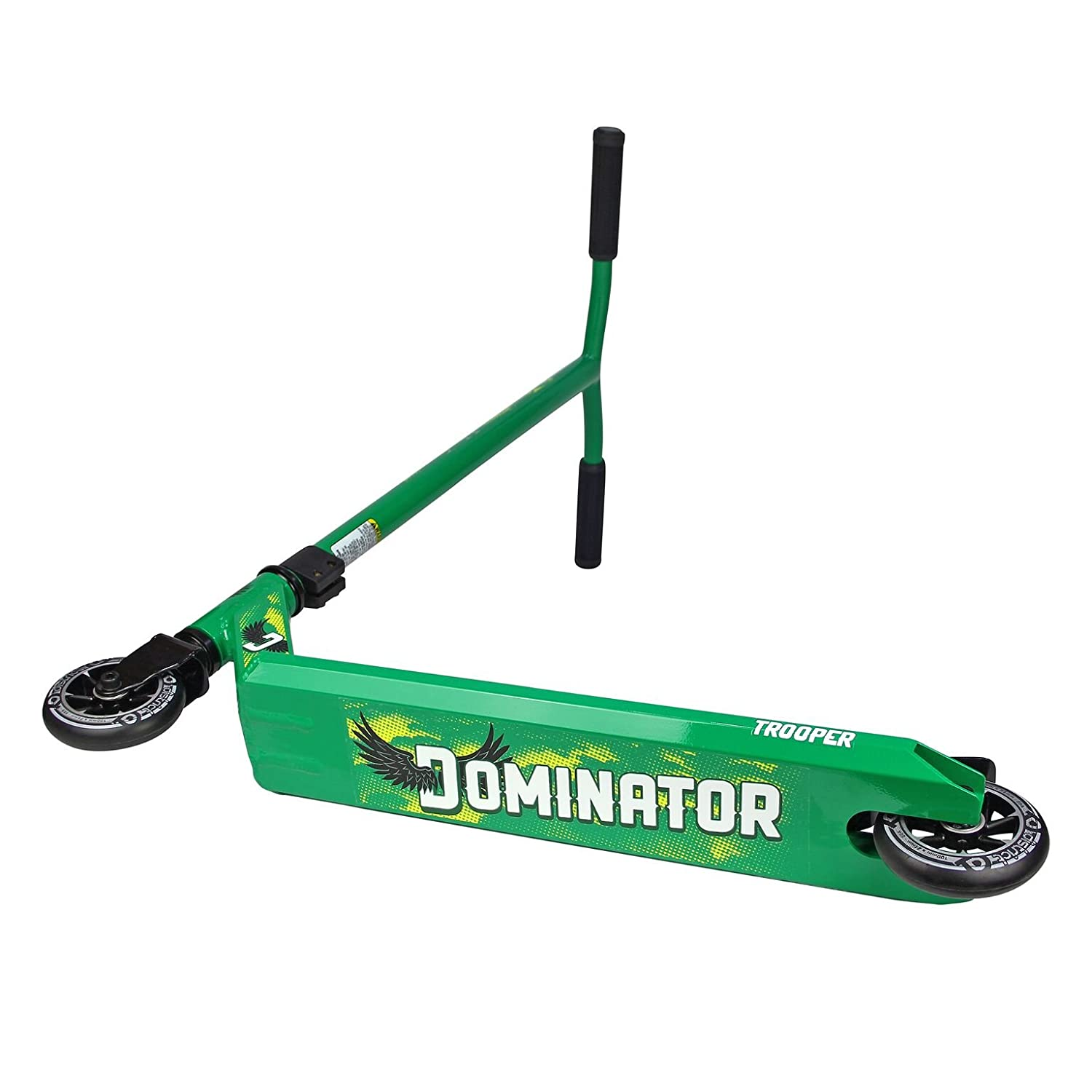 Dominator Trooper scooter freestyle Completo - Varios Colores (Verde / Negro): Amazon.es: Deportes y aire libre