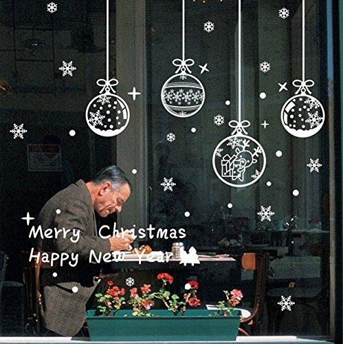 [Csdmakd Christmas Pendant Snowflake Stickers Clothing Store Glass Window Decorative Wall Stickers Christmas] (R2d2 Costume Pattern)