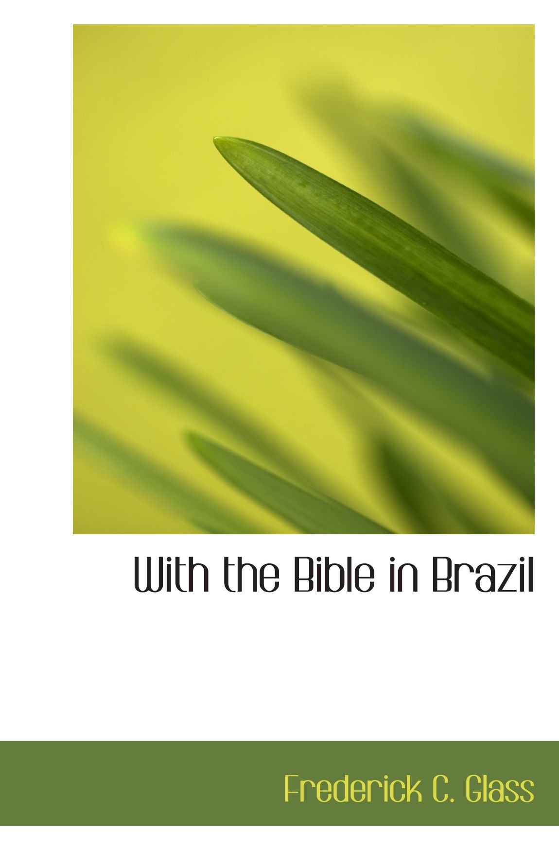 With the Bible in Brazil
