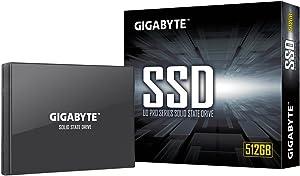 """GIGABYTE UD PRO 512GB 64 layer 3D TLC NAND Flash SATA III 2.5"""" Internal SSD - GP-GSTFS30512GTTD"""