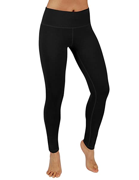 6119162de3def6 ODODOS Power Flex Yoga Pants Tummy Control Workout Non See-Through Leggings  with Pocket,