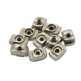 3d impresora piezas M3/M4 de acero al carbono T Tipo tuercas ...