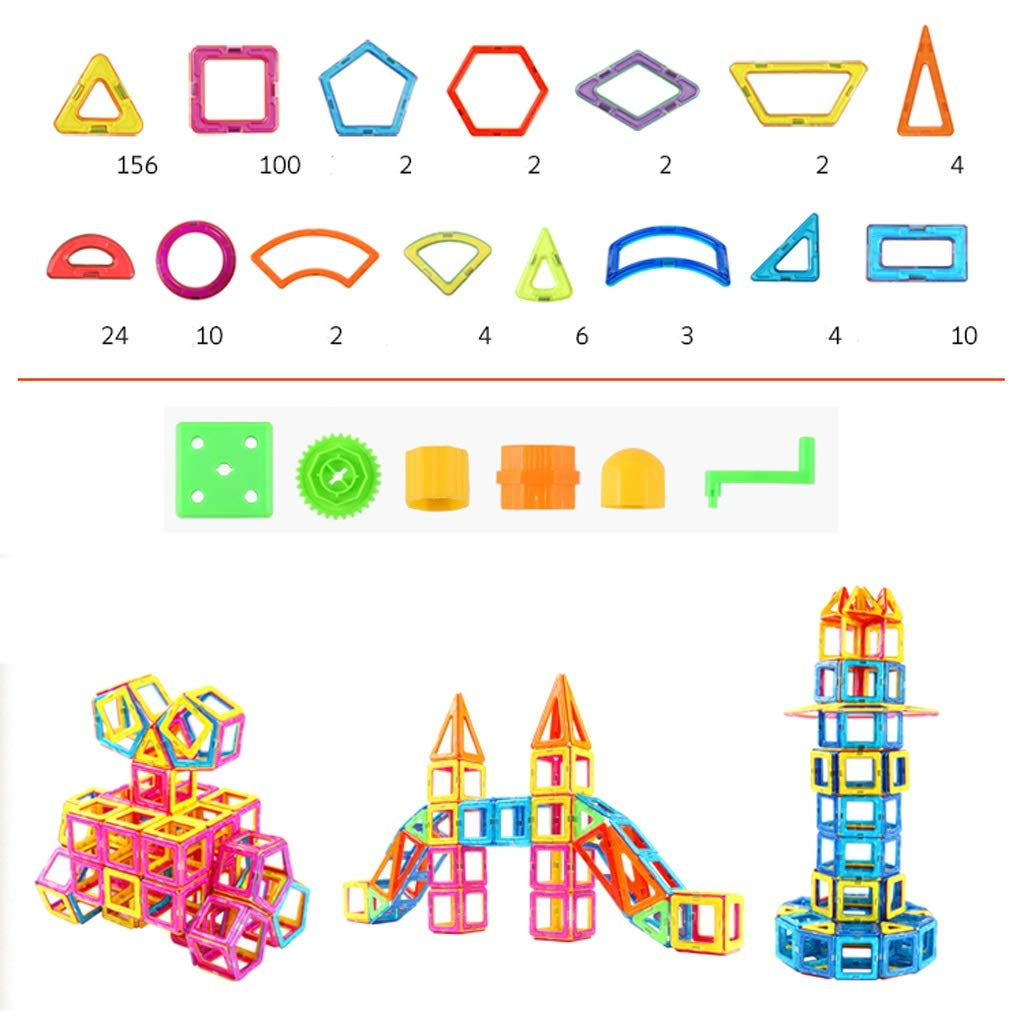 LIUFS-TOY Magnetic Piece Building Blocks Children's Toys Assembling Patch Puzzle Diamond 3-10 Years Old Boy Girl (Size : 331 Pieces) by LIUFS-TOY (Image #6)