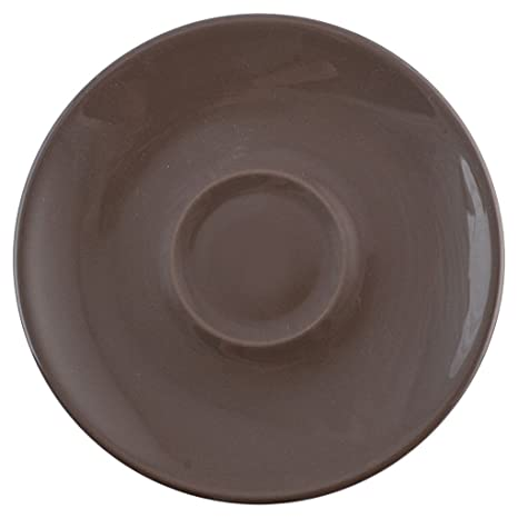 Desconocido H & H 4283464 Plato X, Taza Jumbo, Cromático, cerámica, marrón