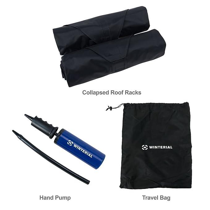 Amazon.com: rakapak hinchable Baca rack/Viaje/Equipaje ...