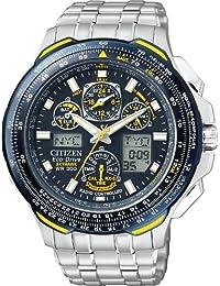 Citizen #JY0040-59L Men's Eco Drive Blue Angels Skyhawk Atomic Time Watch