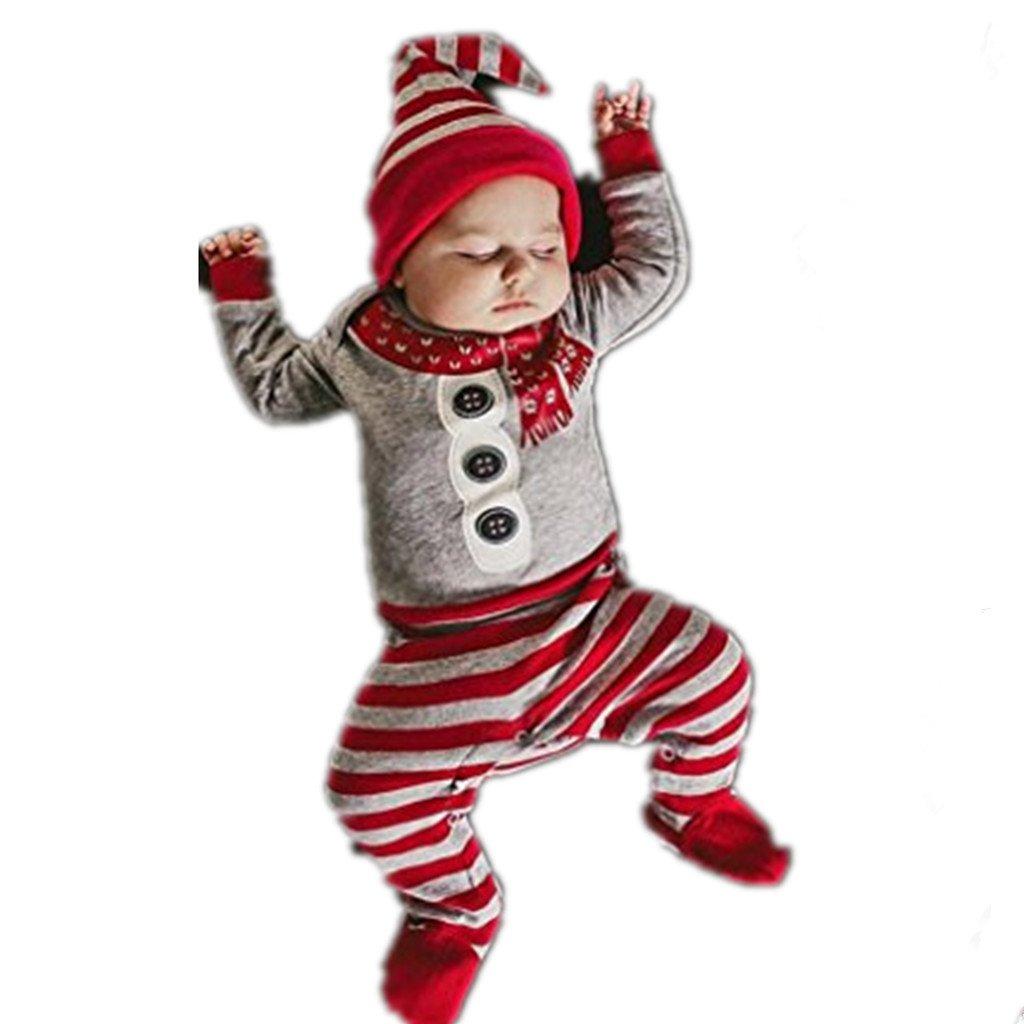 Fami- Vestiti di vestito stabiliti dei capretti 2Pcs dei capretti dei neonati delle neonate di natale di Natale